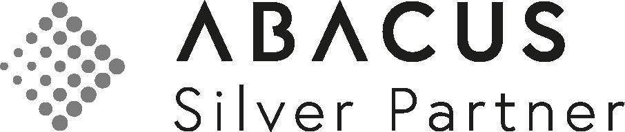 Abacus Logo Silver Partner